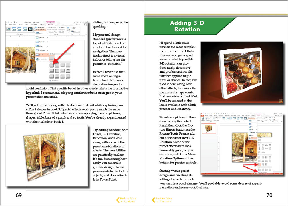 Look inside visual language book series PowerPoint Mastery
