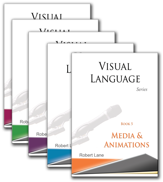 Aspire visual language book series