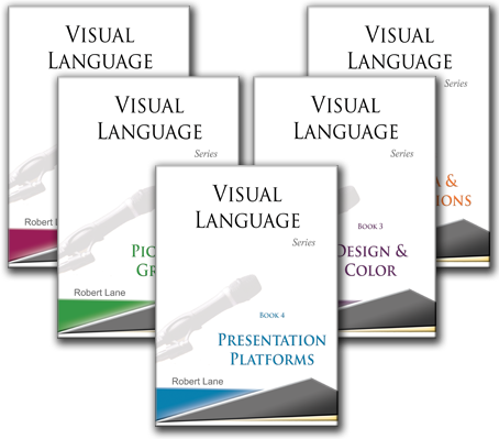 visual language book series for dynamic PowerPoint presentation and speaking